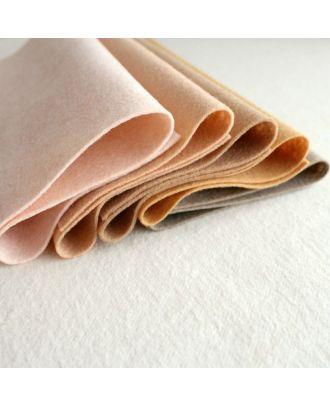 Skin Tones Merino Wool Blend Felt - 5 9x12 Sheets
