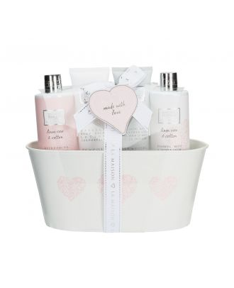 Baylis & Harding La Maison Linen Rose & Cotton Essentials