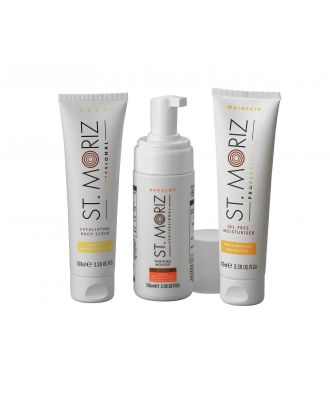 St Moriz The Complete Collection Tanning Box.