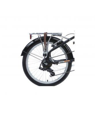 Viking Safari 20 Inch Foldable Bike - Matte Black