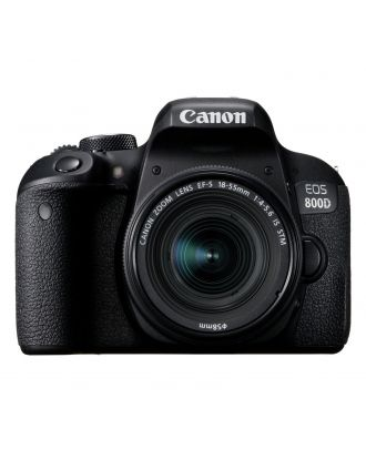 Canon EOS 800D DSLR with 18-55MM IS STM Lens