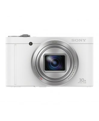 Sony WX500 Compact Camera with 30x Optical Zoom - White