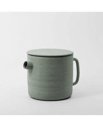 White Speckle Teapot