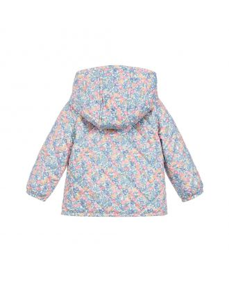 Floral Quilted Baby Jacket