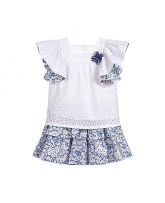 2 Piece Cotton Skirt Set