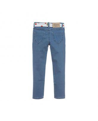 Girls Slim Fit Denim Jeans