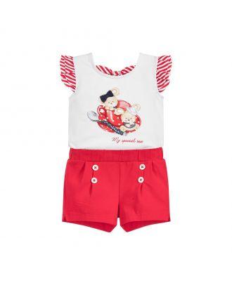 Girls 2 Piece Shorts Set