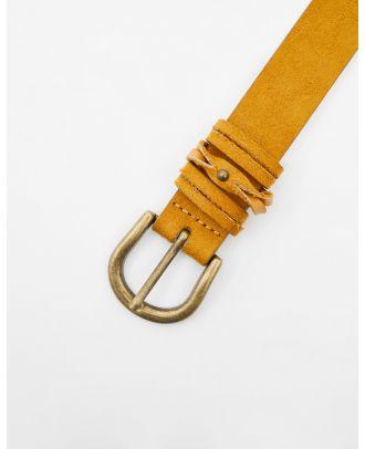 Belt with loop detail