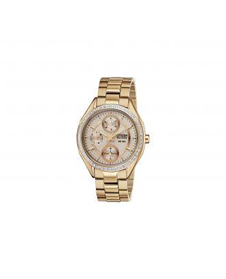Citizen Eco-Drive Ladies' Rose Multidial Bracelet Watch